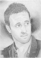 Alex O'loughlin looking back by diangirl