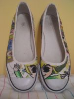 Shoes: LoZ The Wind Waker by icemirror