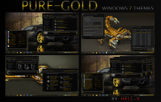 PURE-GOLD BY HELL-X by HELL-X-HELL