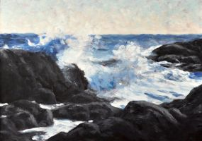 Schoodic Point by chashio