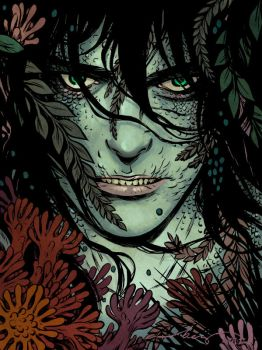 Perils Of The Sea: Man of the Minch Becky Cloonan by SpicerColor
