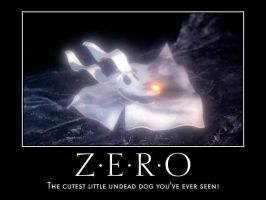 Zero Ghost Motivational Poster by Vampy-Chelly