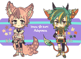 Hanakomi adopts 3 Auction CLOSED by Kaiet