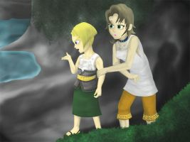 Twilight princess part 5 Colin and Ilia by Dragonauroralight