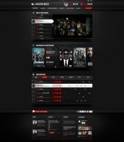 Web Design: Cinema by VictoryDesign