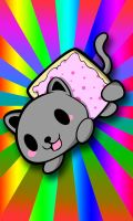 Tiny Nyan Cat by jerkysans