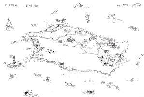 doodle map by clare13