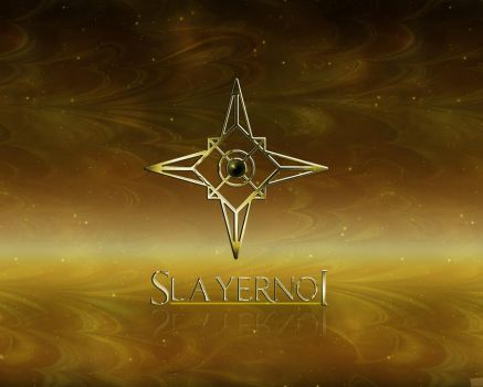 Slayerno1 Logo and Wallpaper by Slayerno1