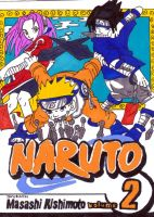 naruto manga cover two by frecklesmile