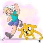 Finn and Jake by DAsKeTcHeRZ
