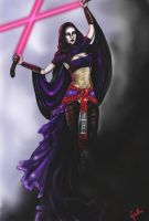 Asajj Ventress by JessLewis