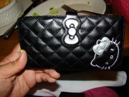 My Hello Kitty Wallet by stephuhnoids