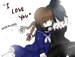 [wadanohara ] I love you by moischan