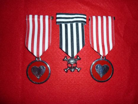Medals for Love and Courage by GeorgieChaos