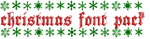 Christmas Font Pack by kissbangBAM