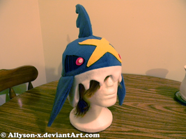 Sharpedo Hat by Allyson-x