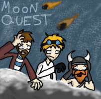 Moon Quest by tooncooro