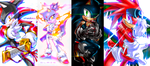 sonic doodle compilation by cat-meff