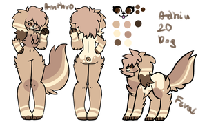 Adhiu reference sheet 2017 by Ixyope