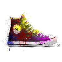 Pop shoes by PootPoster