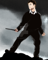 Harry Potter Drawing 2007 by andys184