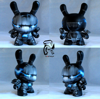 War Machine 8 inch Dunny by FullerDesigns