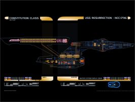 U.S.S. Resurrection MSD by Meteorafallen