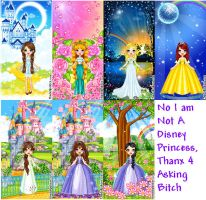 Non-Disney Princess Dollz by Disneyboi411