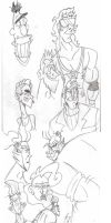My First Sketch Dump of 2014!! by Loko-Motion