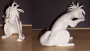 sculpture of L tutorial part 3 by angelic-wolf51