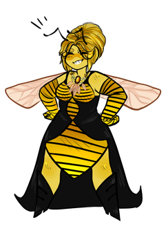Queen Bee OC by ScuffScotch