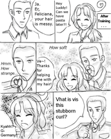 The Curl: Germany x Fem! Italy Page 1 by thefuzzysweater
