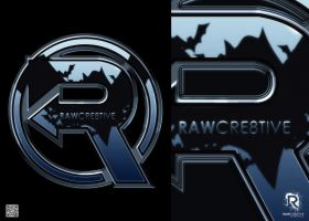 Avengers meets The Dark Knight RAW CRE8TIVE logo by rawcre8tive