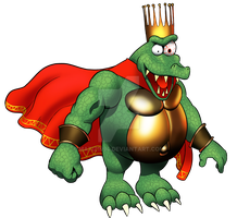King K. Rool by MatiZ1994