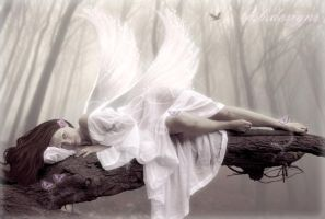 Angelic Contemplation by krissybdesigns