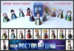 Doctor Who -  Mini Doctors 1 - 11 by mikedaws