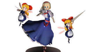MMD Figure- Alice with Shanghai dolls by magicturtlerock
