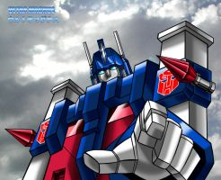 Ultra-Magnus - Colorized by MDTartist83
