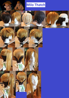 Milo Thatch Wig WIP by Miss-Star-Bucket