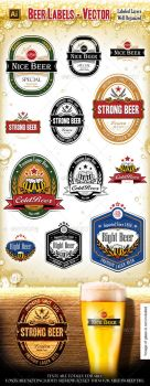 Beer Labels by mfcoelho