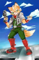 FOX MCCLOUD by nyaruko by starfox-club