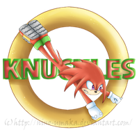 Knuckles Logo by Nino-Umaka