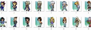 YuGiOh Folder Icons by Ginokami6