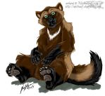 Puzzled li'l wolverine guy by whitewolf