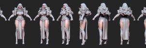 Kingdom Death: Paladin WIP by HazardousArts