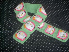 Hello Kitty Scarf by couldvebeendifferent