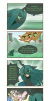 Chrysalis's fluttered adventure p5 by HowXu