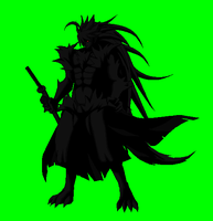 BBCP Mugen Hayate Shadow Beast Form by NIGHTMAREZENUKI