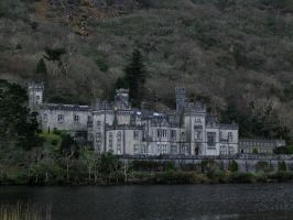 Kylemore Abbey by Bladewing-Stock