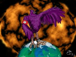 Nazi pigeon by Neolithic-angel